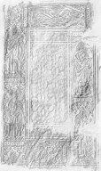 Front cover rubbing, 168558.