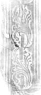 Acanthus leaf on a staff stamp rubbing, 173- 554q.