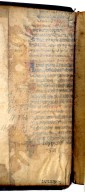 Recycled manuscript underneath pastedown, 185- 272q.