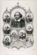 Shakspeare's portraits [graphic].