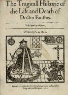 The tragicall historie of the life and death of Doctor Faustus.