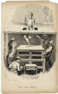 Alas, poor Ghost! [R.W. Elliston whipping the legs of the Ghost who is being lowered through a trap, Hamlet, act I, scene 1] [graphic] / Geoe. Cruikshank.