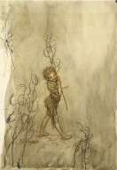 """Puck - """"Lord what fools these mortals be"""" [graphic] / Arthur Rackham, '08."""