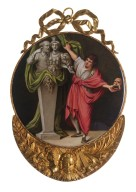 David Garrick unveiling a herm of Shakespeare and the Ephesian Diana