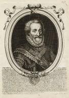 Henry 4e du nom roy de France et de Navarre [graphic] / De L'armessin, sculpebat.