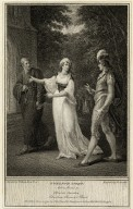 Twelfth night, act 4, scene 3, Olivia's garden, Sebastian, Olivia & a priest [graphic] / painted by W. Hamilton R.A. ; engrav'd by W. Angus.