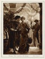 Romeo's first meeting with Juliet : [graphic] Act I, scene V / J.E.P. 1891.