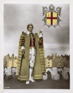 Publicity shot of Laurence Olivier as Henry V for the 1948 film