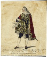 Mr. Barry in the character of Hotspur in 1st part of Henry IVth, done from the original picture in the possession of Her Grace the Duchess of Northumberland [graphic].