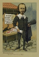 "[An original caricature of Shakespeare] [graphic] / by ""Kyd"" [pseud.]"