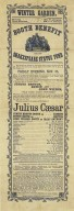 Playbill for Julius Caesar, Nov. 25, 1864