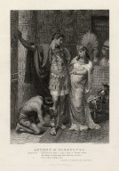 "Antony & Cleopatra, Antony: ""Fall not a tear, I say; one of them rates all that is won and lost ... "" Antony & Cleopatra, act III, scene IX (ie, 11] [graphic] / Frank Dicksee pinxt. ; G. Goldberg sculpt."