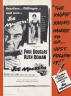 Columbia Pictures presents Paul Douglas, Ruth Roman [in] Joe Macbeth