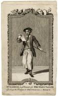 David Garrick as a Drunken Sailor, speaking the prologue to Brittannia