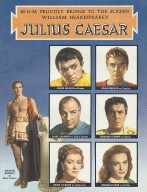 Julius Caesar. (Film) MGM Promotional Program