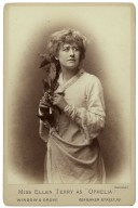 "Miss Ellen Terry as ""Ophelia"" [in Shakespeare's Hamlet] [graphic] / Window & Grove."