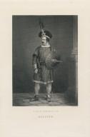 Edwin Forrest as Macbeth [graphic] : [in Shakespeare's Macbeth] / A. Robin [sculp.].
