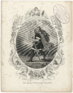 Mr. Edwin Forrest as Macbeth ... [in Shakespeare's Macbeth] [graphic] / engd. by R. Thew.