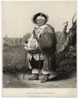 James H. Hackett as Falstaff, Henry fourth, act IV, scene II [graphic] / gravure, Gebbie & Co.