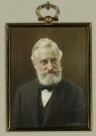 Oval miniature of Mr. Folger