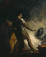 Macbeth in the witches' cave