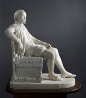 [William Shakespeare, seated]