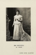 Mme. Modjeska as Juliet [in Shakespeare's Romeo and Juliet] [graphic].