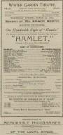 100th Night of Hamlet playbill