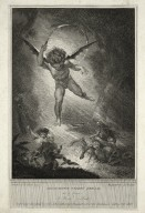 Midsummer-night's dream, act 2, scene 1, a wood -- Puck [graphic] / painted by H. Fuseli ; engraved by Jas. Parker.