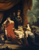 Volumnia pleading with Coriolanus