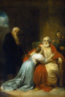 The Awakening of King Lear (before conservation in 1988)