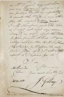 Letter from Gillray to John Boydell