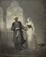 Othello and Desdemona [graphic] / Henry Joseph Fradelle.