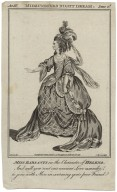 Act III, Midsummers night dream, scene 2d [graphic] : Miss Barsanti in the character of Helena / J. Roberts del. ; C. Grignion sculp.