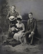 Mr. and Mrs. Folger with Mr. and Mrs. C.M. Pratt (photo)