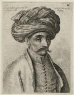 [Turk's head] [graphic] / W. Hollar ad viuum deli. Londini 1637 et fecit Antverpiae ao. 1645.