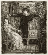 Hamlet, III, 1, Ophelia returning the gift to Hamlet, six progressive plates [graphic] / [Dante Gabriel Rossetti, artist] ; done in collaboration with Sir Seymour Hayden.