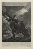 Winters tale, Antigonus: This is the chase - well may I get aboard!, act III, scene III [graphic] / painted by J. Halls ; engraved by Bragg.