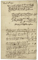 Accounts with Dryden for printing his Virgil translation