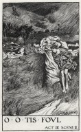 King Lear, a set of eight original drawings [graphic] / [Byam Shaw].