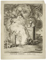 Shakespeare sacrificed, or, the offering to avarice [graphic] / Andrew Ferrara design et fecit.