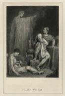 Julius Caesar, act 4, scene 3 [Brutus & the ghost of Caesar] [graphic] / R. Westall R.A. del. ; W. Humphrys, sculp.