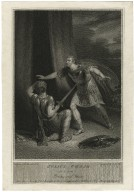 Julius Caesar, act 5, scene 3, Brutus & Strato [graphic] / painted by R. Westall ; engraved by S. Noble.
