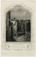 Mr. Macready as Brutus ... [in Shakespeare's Julius Caesar, act 3, sc. 2] [graphic] / engraved by G. Greatbach ; from the original painting by Reid in the possession of the publishers.