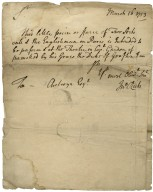 Collection of autograph letters signed (1 cropped) [manuscript] : to various people, 1722-1753.
