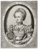 Maria Iacobi Scotorum Regis filia, Scotorumque nunc Regina [graphic] / PAME [monogram].