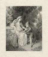 [Twelfth night: Olivia and Viola, act II, sc. 1?] [graphic].