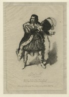 J.B. Booth ... [as Richard in Shakespeare's King Richard III] [graphic] / from an original drawing by Rouse.