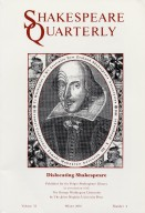 Shakespeare quarterly.