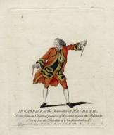 Mr. Garrick in the character of Macbeth